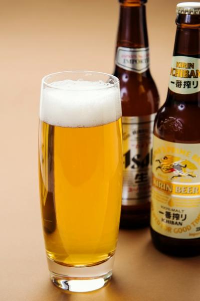 朝日啤酒/麒麟啤酒