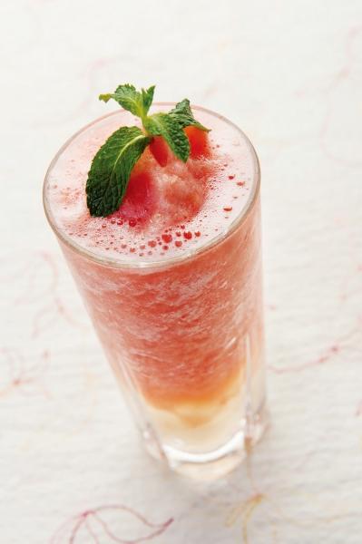 白桃草莓雪冰