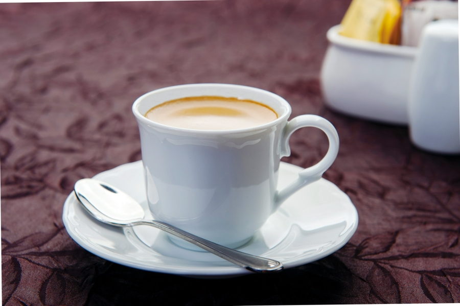 豆磨熱咖啡
