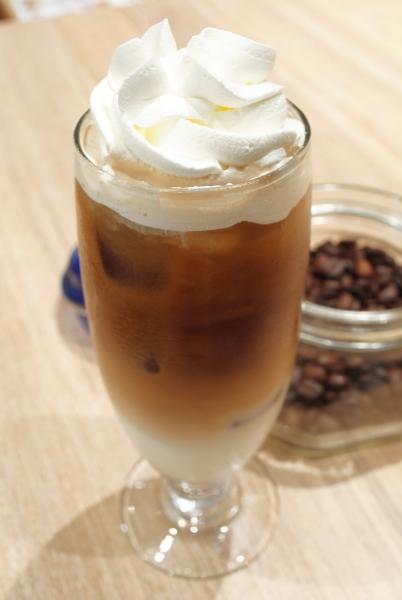 凍泡沫咖啡