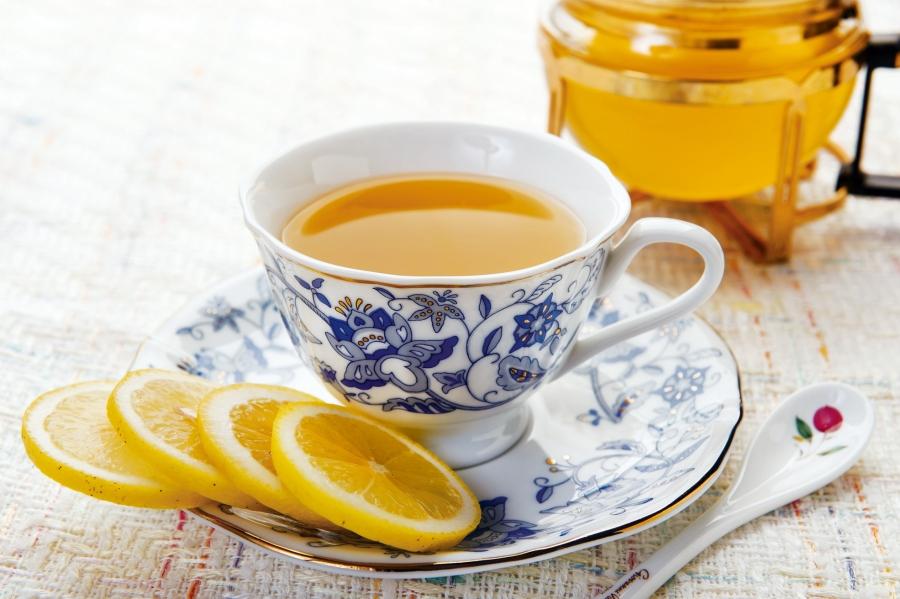 蜜糖檸檬綠茶