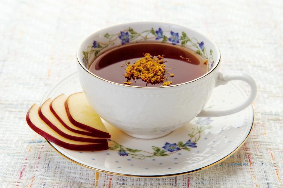 蜜糖桂花蘋果茶