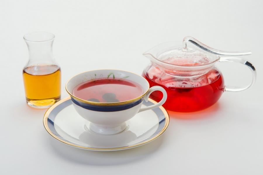 蜜糖藍莓茶