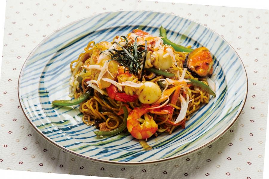 海鮮野菜炒拉麵/烏冬