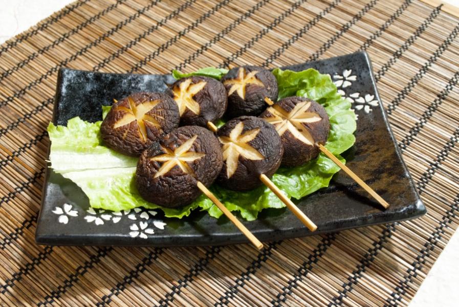 串燒日式花菇